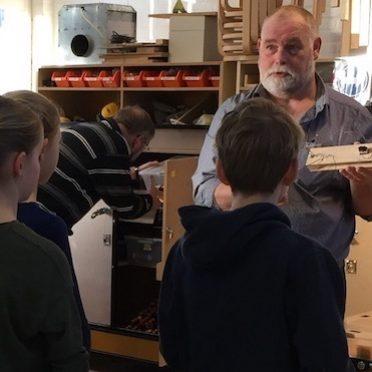 john instrueert leerlingen vierkant